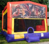 Spiderman Bounce House Slide Combo