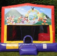 Mickey Mouse Bounce House Slide Combo