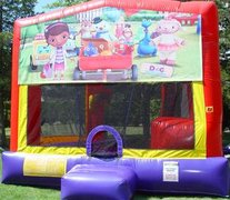 Doc McStuffins Bounce House Slide Combo