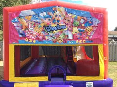 Shopkins Bounce House Slide Combo