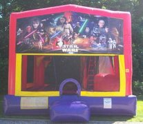Star Wars Bounce House Slide Combo