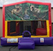 Dinosaur Bounce House Slide Combo