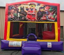 Lego Movie Bounce House Slide Combo