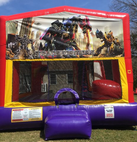 Transformers Bounce House Slide Combo
