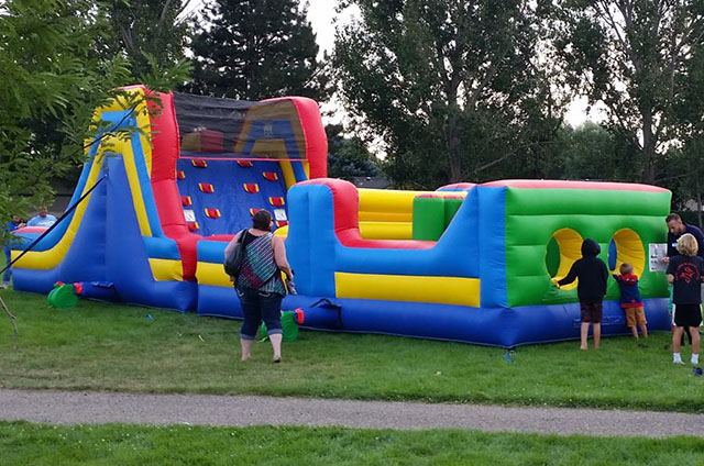 40 Foot Obstacle Course Rentals