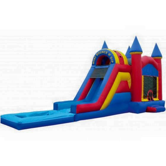 Inflatable Water Slide Usa: Bounce House Castle Combos Water Slides
