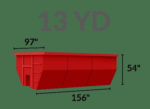 13 yard dumpster rental