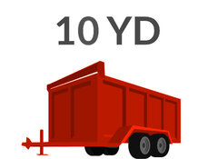 10 Yard Trailer Swapout