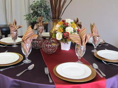 TABLE LINEN, CHAIR COVERS