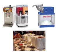 Frozen Drink Machines,Snow Cone and Ice Cream Bar