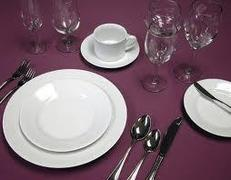 China,Dinnerware, Flatware and Glassware