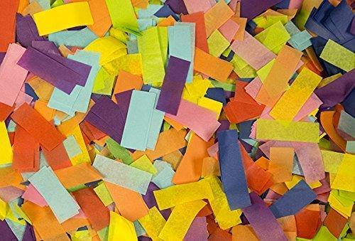 Bulk Confetti Multi Color Tissue Paper