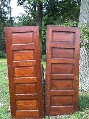 Doors Rustic Each White or Dark Wood