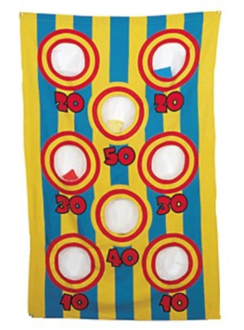 Curtain Bean Bag Toss Game