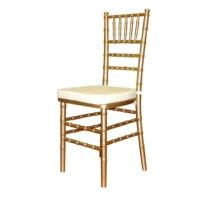 Chivari Chair -Gold with pad-p
