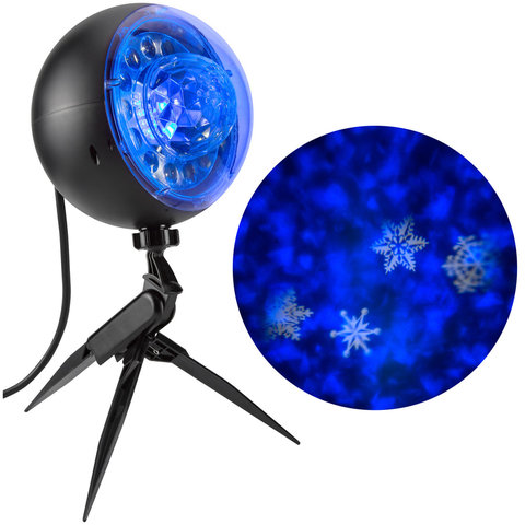 LED Snow Projection Light