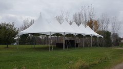 20 x 120 HIGH PEAK FRAME TENT ONLY