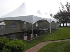 20 x 50 FRAME TENT ONLY $625