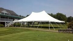 40 x 60 pole tent only-NEW