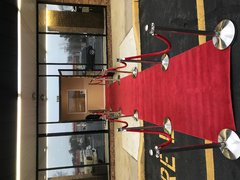 RED CARPET 4' X 25' NEW $100