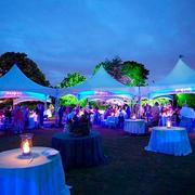 LED Lighting Party High Peak Tent - Call Office
