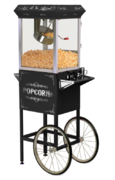 POPCORN MACHINE WITH CART $80