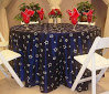TABLE LINEN $18- ADD COLOR,SIZE, STYLE- IN COMMENT SECTION. CLICK MORE INFO BUTTON BELOW