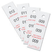 COAT CHECK TICKETS (50 pack)