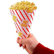 popcorn cone bags (10 pack)