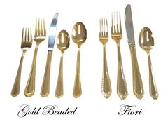 Gold Plated Fork