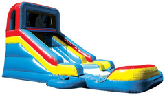 SLIDE WITH DETACHABLE POOL WET OR DRY SLIDE