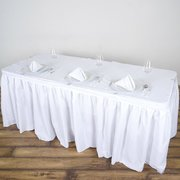 Table skirt 14' with clips -DPR