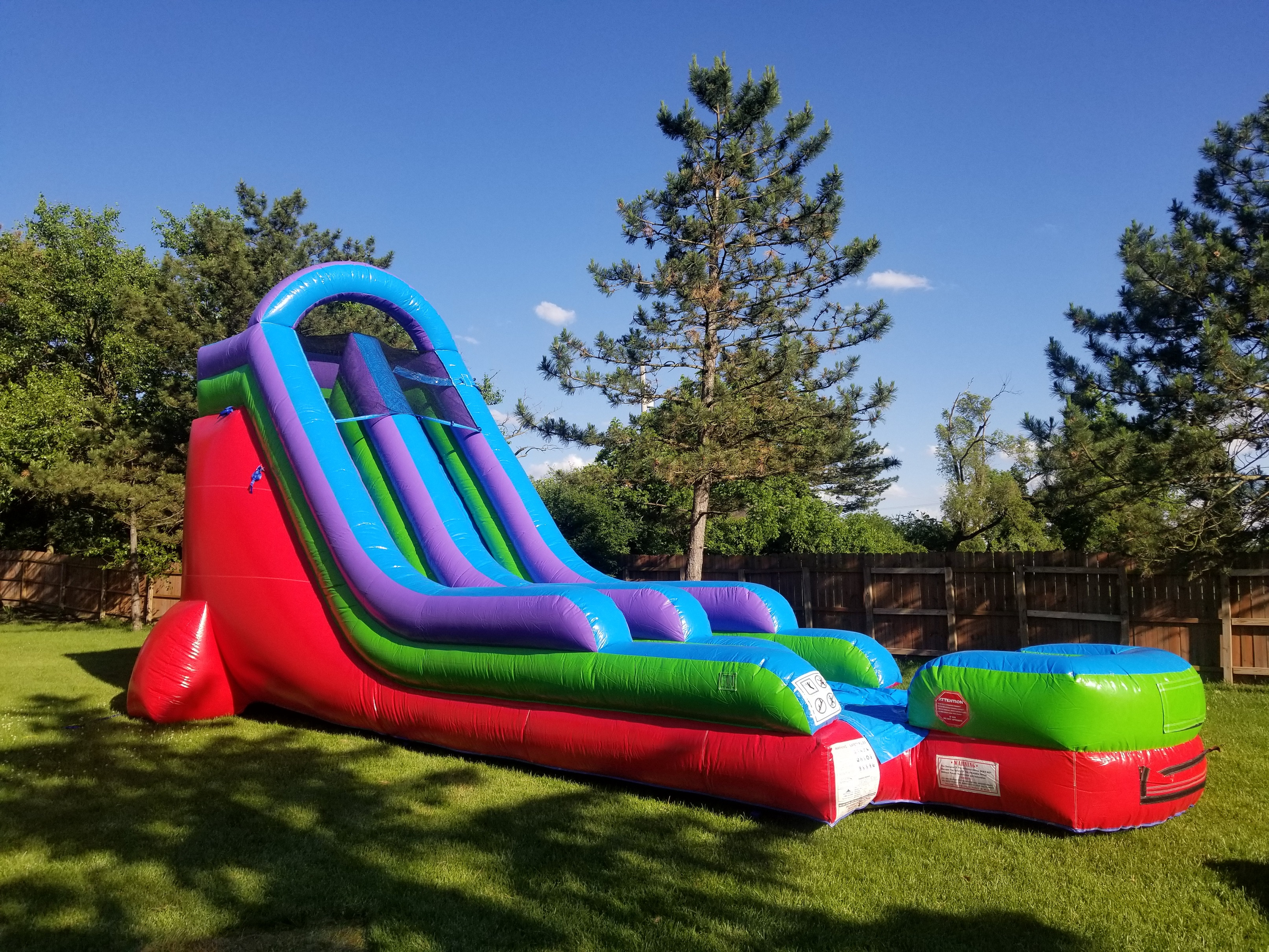 Dayton Inflatable Dry Slide Rental