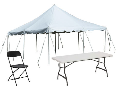 20x30 Tent Party Package
