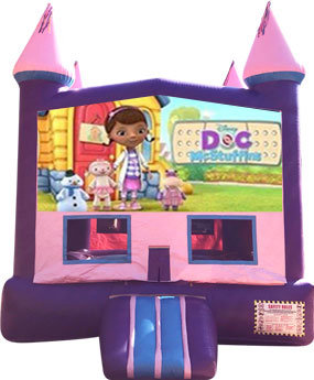 Doc McStuffins Purple Castle