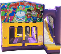Happy Birthday 1 Purple Fun Time Combo