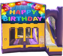 Happy Birthday 2 Purple Fun Time Combo