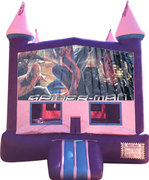 Spiderman Purple Castle