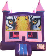 Geaux Tigers Purple Castle