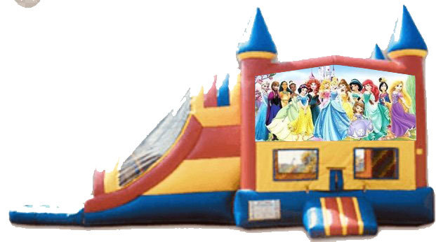 Disney Princess 4 in 1 Castle Combo