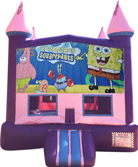 Sponge Bob Purple Castle
