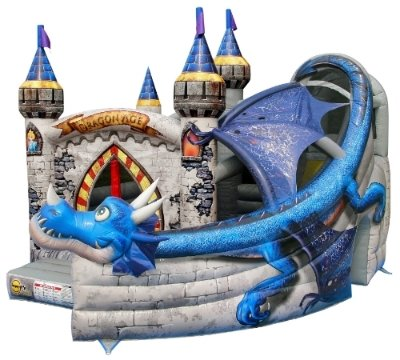 Dragon Castle w/ Slide & Pool