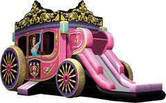 Princess Carriage w/ Slide & Pool