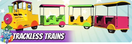 Tracless Train Rentals