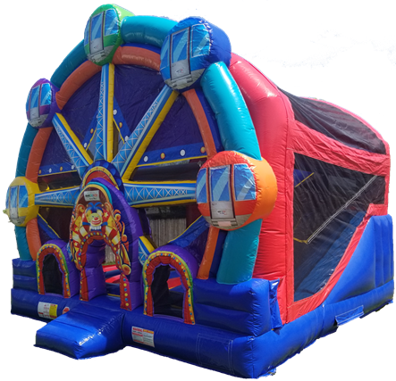 Ferris Wheel Bounce House Left