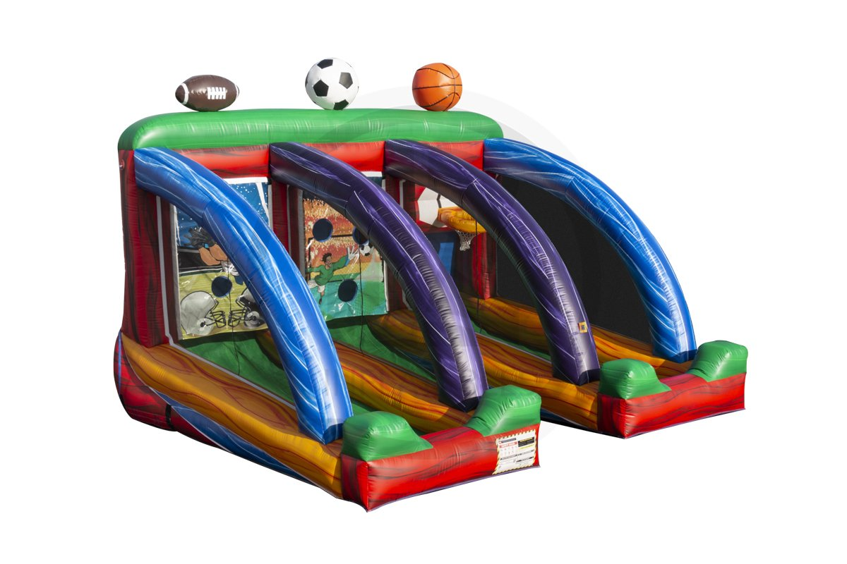 3 in 1 Inflatable Sports Game