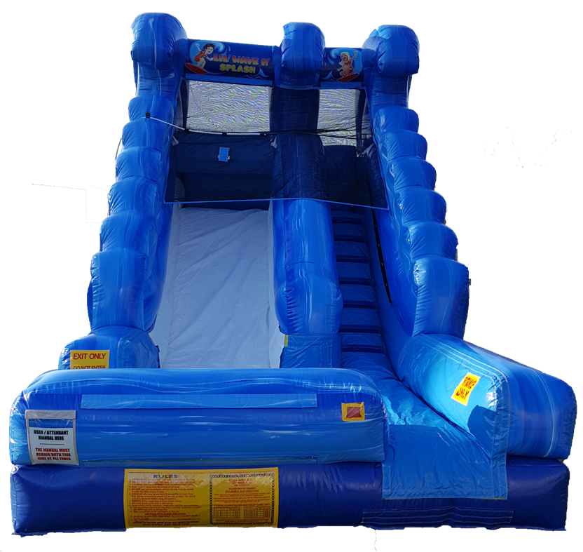 Lil' Wave & Splash Water Slide Front