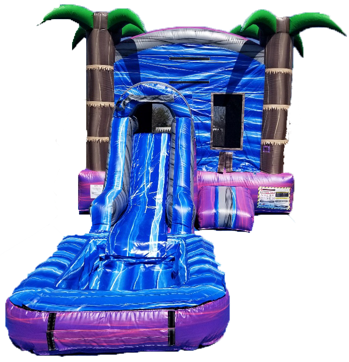 Purple Crush Water Slide Combo