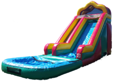 18 ft Water slide with Pool Frisco