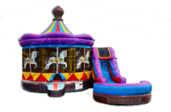 Carousel Combo Bounce House Frisco